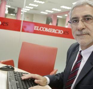 Gaspar Llamazares, candidato de IU al Principado
