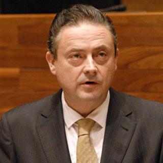 Joaquín Aréstegui. Portavoz adjunto del PP en el Parlamento asturiano