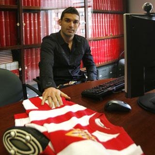 Delantero del Sporting de Gijón