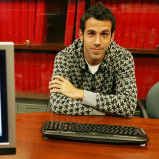 Cristian Portilla, futbolista del Sporting B